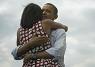 Michelle Obama in Asos-jurk op meest gedeelde foto ooit